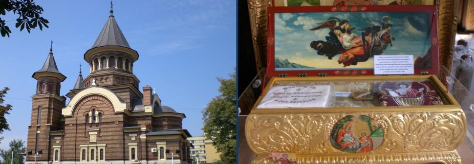 Biserica Belvedere - Moastele Sfintei Ecaterina